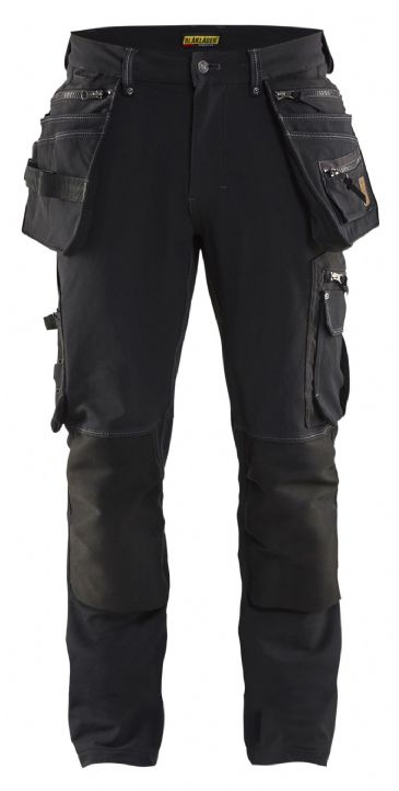 Blaklader 1998 Craftsman 4-way Stretch Trousers X1900 (Black)